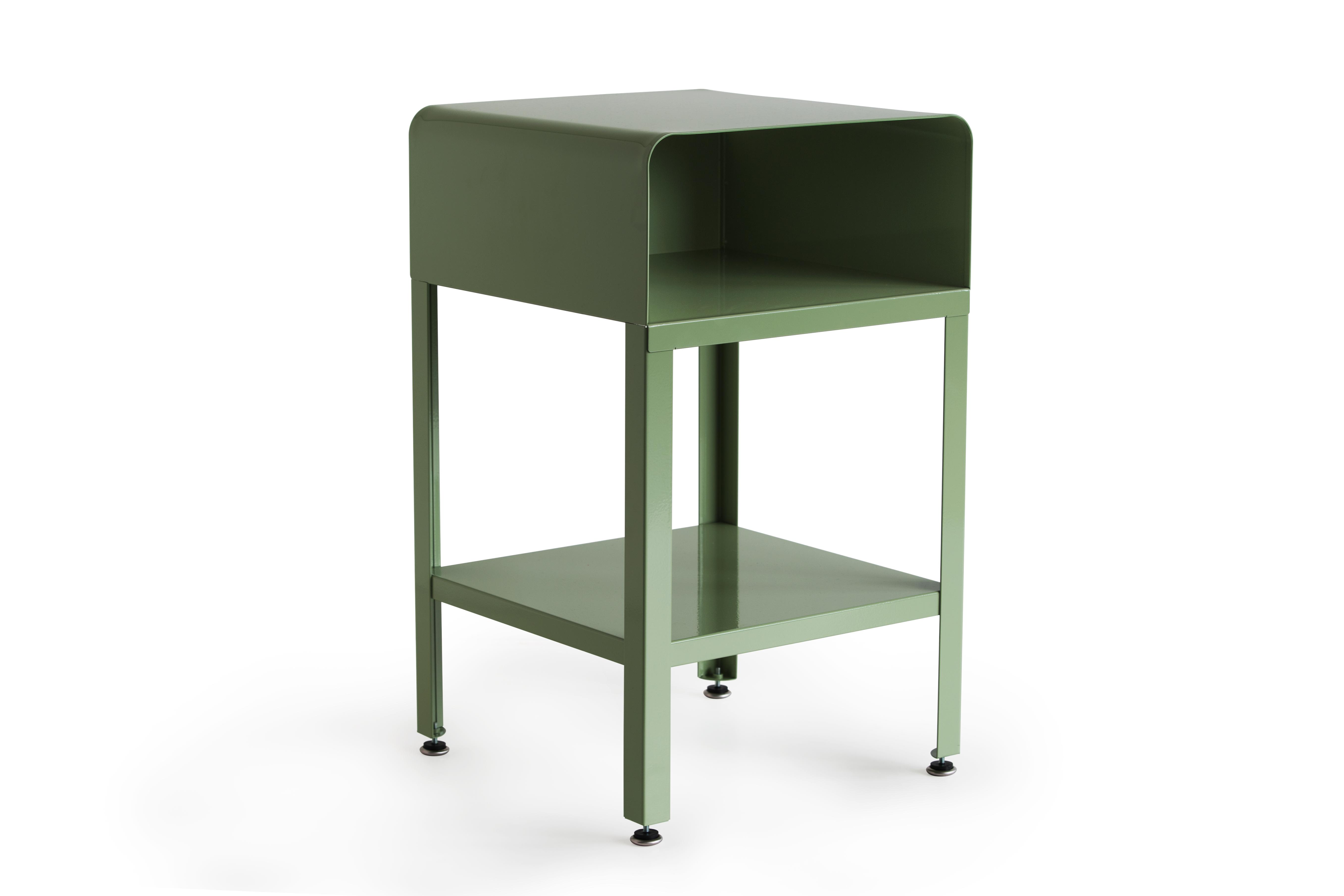 RMP Retro Metal Nightstand Green