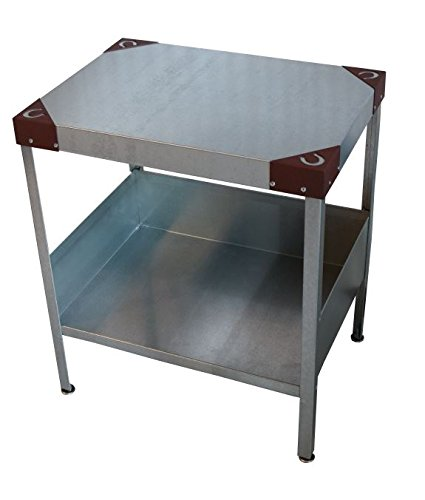 Man Cave End Table : Rmp galvanized man cave indoor outdoor end table rust