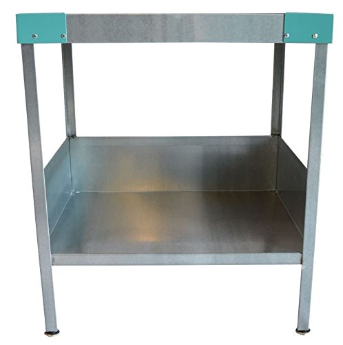Man Cave End Table : Rmp galvanized man cave indoor outdoor end table teal