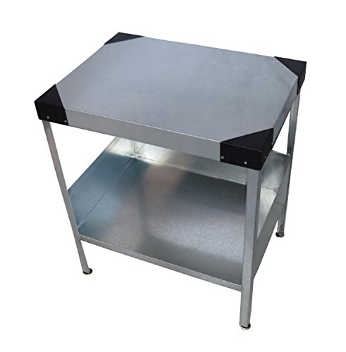 Man Cave End Table : Rmp galvanized man cave indoor outdoor end table black