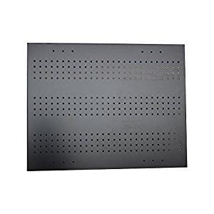 RMP Wall Mount Pegboard, Black Powder Coated Steel, 23 Inch x 29 Inch - 4 Pack