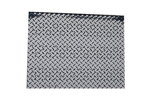 RMP Wall Mount Pegboard, Aluminum Treadplate, 23 Inch x 29 Inch - 2 Pack