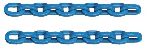 RMP Bullet Resistant Chain Set, 3/8 Inch x 12 Inch Steel Chain for Swing Targets