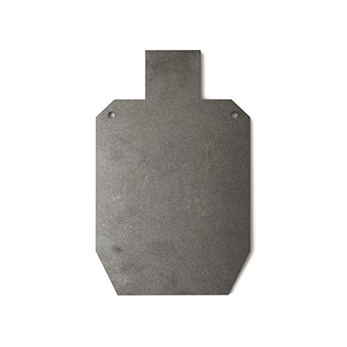 RMP Small Silhouette Swing Target - 15-1/8 Inch x 9-1/4 Inch, Made from 1/2 Inch Thick Hardox AR500