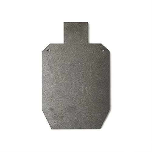 RMP Medium Silhouette Swing Target - 11-1/4 Inch x 20 Inch, Made from 3/8 Inch Thick AR500