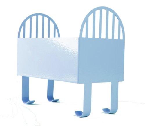 Blue Baby Crib Keepsake