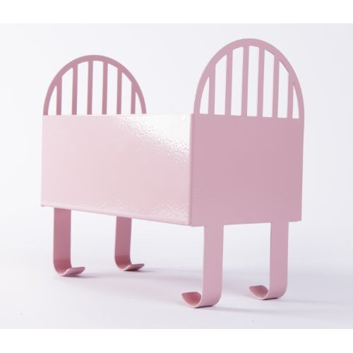 Pink Baby Crib Keepsake