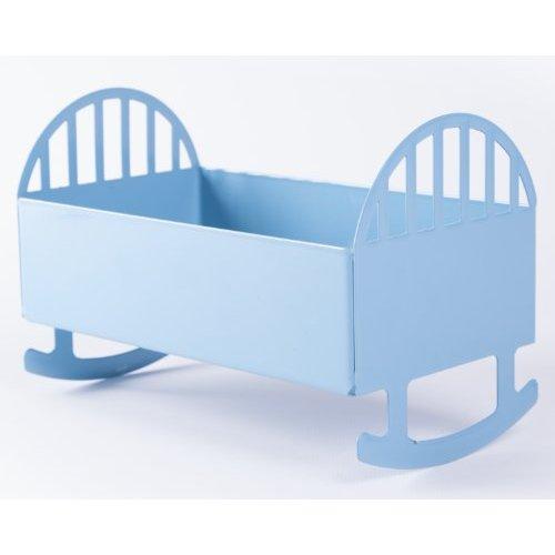 RMP Blue Baby Cradle Keepsake