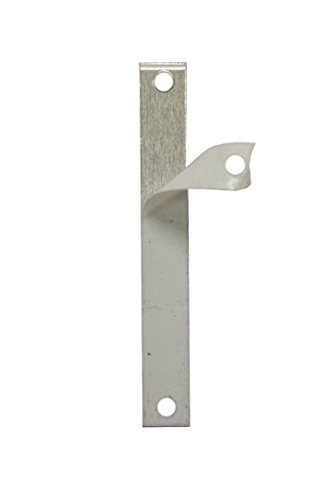 RMP Stamping Blanks, 1/4 Inch x 1 7/8 Inch Rectangle With Two Holes, Aluminum .032