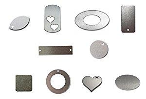RMP Stamping Blanks, Multi Pack, Aluminum .063 Inch (14 Gauge) - 50 Pack