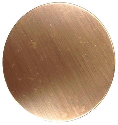 RMP Stamping Blanks, 1-1/4 Inch Round, 16 oz. Copper 0.021 Inch (24 Ga.) - 10 Pack