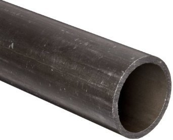 RMP Hydraulic Carbon Steel Round Tube, 3/8 Inch OD x 0.049 Inch Wall in a 12 Inch Length
