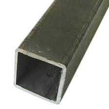 RMP Hot Rolled Carbon Steel Square Tube, 2 Inch Width x 3/16 Inch Wall x 36 Inch Length, Mill Finish