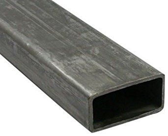 RMP Hot Rolled Carbon Steel Rectangular Tubing, 4 Inch x 2 Inch Sides x 3/16 Inch Wall in a 12 Inch Length