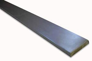 RMP Cold Rolled 1018 Carbon Steel Flat Bar, 1/4 Inch x 5/8 Inch