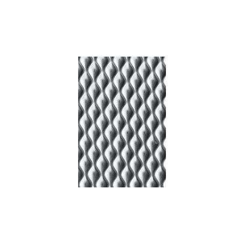 RMP Textured Stainless Steel Sheet,  4 Inch x 12 Inch x 0.021 Inch (24 Ga.) - 1 Pack