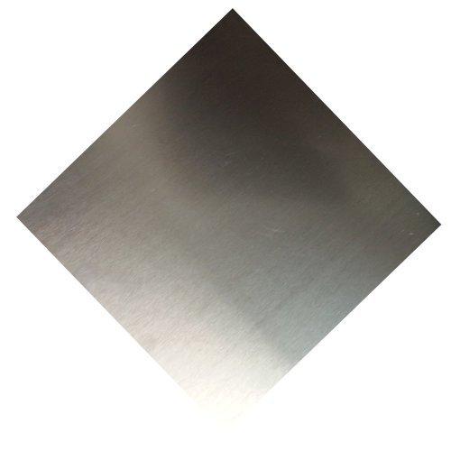 RMP 6061 T6 Aluminum Sheet, 12 Inch x 12 Inch x 0.125 Inch Thick - NO PVC