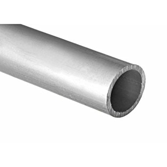 RMP 6061-T6 Schedule 40 ASTM B429 Structural Aluminum Pipe, 1 Inch ID in a 24 Inch Length