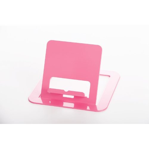 RMP Sassy Pink Universal Tablet Stand for iPad/iPad 2, Galaxy Tab, Surface, Nook, Nexus and Other Tablets