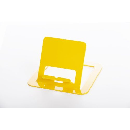 RMP Yellow Universal Tablet Stand for iPad/iPad 2, Galaxy Tab, Surface, Nook, Nexus and Other Tablets